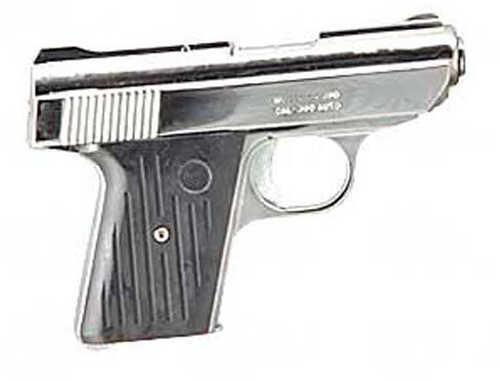 "Cobra Kodiak CA380 380 ACP 2.8"" Barrel 5 Round Chrome Black Semi-Auto Pistol KFA-30076"