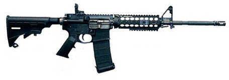 """Core15 / Core Rifle Systems Rifle Core15 TAC Ultra Light Semi Automatic AR 223 Remington /5.56 NATO 16"""" Barrel 30 Round Black 77022"""