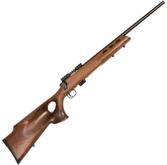"Crickett Keystone 722 Varmint Bolt Action Rifle 22 Long Rifle 20"" Barrel 7 Round Walnut Wood Stock Blued 20035"