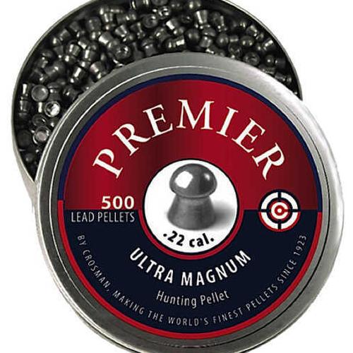 Crosman Premier Pellets .22 Silver LDP22