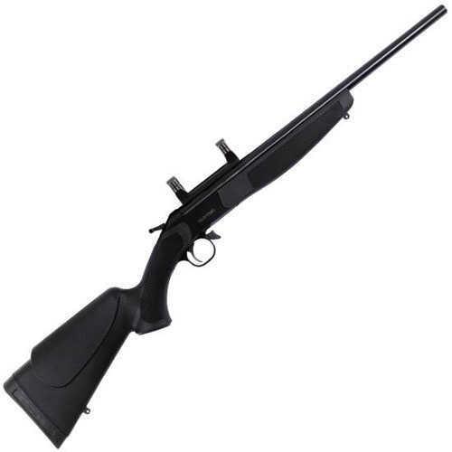 Rifle CVA Hunter Compact Break Action Rifle 7mm-08 Remington With Mount CR5610