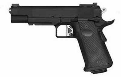 CZ USA 10mm Pistol DW Titan Elite Black With Rail Tritium Sight 18 Round Mag 01976