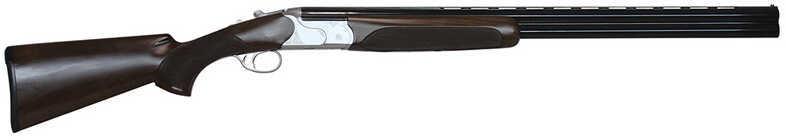 """CZ Redhead Premier Over /Under 20 Gauge Shotgun 28"""" Barrel 3"""" Chamber Turkish Walnut Stock Silver Black 06473"""