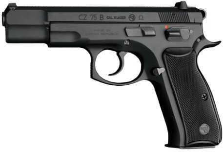 "CZ USA 75 OmeGauge 9mm Luger 4.7"" Barrel 16 Round 2 MaGaugezines Semi Automatic Pistol 91113"