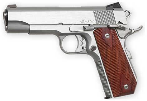 "Dan Wesson Commander Classic Bobtail 45 ACP 4.3"" Barrel 8 Round Stainless Steel Semi Automatic Pistol 01912"