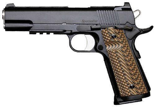 "Dan Wesson Specialist 1911 45 ACP 5"" Barrel 8 Round 2 Magazines Alloy Black Night Sights Semi Automatic Pistol 01992"