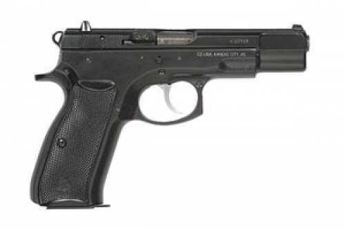 "CZ USA CZ 75 9mm Luger 4.61"" Barrel 16 Round Gloss Blue Semi Automatic Pistol 91103"