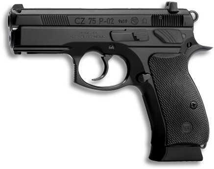"""CZ 75 Compact 9mm Luger OmeGauge 3.8"""" Barrel 14 Round Pistol 91181"""