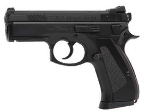"Pistol CZ USA CZ-USA CZ 75 Compact 9mm Luger Black Heinie Night Sights 3.7"" Barrel 14+1 Capacity 91721"