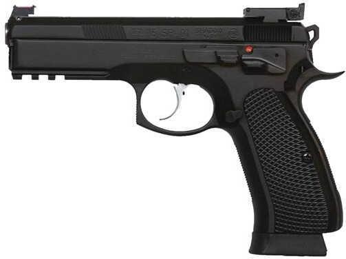 CZ USA CZ 75 SP01 Shadow Custom Semi Automatic Pistol 9mm Luger Black, Three 18 Round Magazines 91760