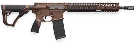 """Daniel Defense M4A1 223 Remington /5.56 NATO 14.5"""" Barrel 30 Round Flat Dark Earth Semi Automatic Rifle 02-088-15126-011"""