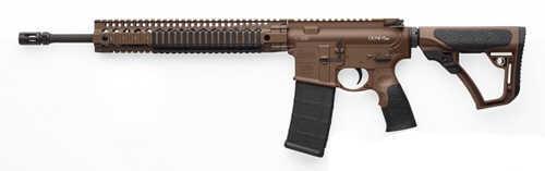 "Daniel Defense V5 Milspec 223 Remington/5.56mm NATO 16"" Barrel 10 Round Mag Brown Furniture Bullet Button Semi Automatic Rifle 02-123-13028-055"