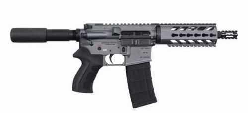 "Diamondback Firearms DB15 Pistol Semi Automatic 223 Remington/5.56mm NATO 7.5""Barrel MB 30+1 Rounds Tactical Gray DB15PTG7"