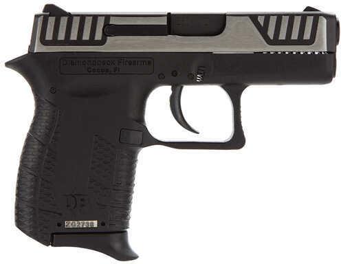 "Diamondback Firearms 380 ACP 2.8"" Barrel 6 Round Black Polymer Frame 2 Tone Slide Semi Automatic Pistol DB380SL"