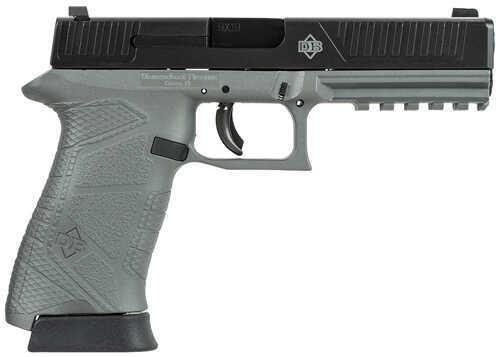 "Diamondback Firearms Diamondback DBFS9 Full Size 9mm Luger 4.75"" Barrel 15 Round Gray Frame Black Slide Semi Automatic Pistol DB9FSGG"