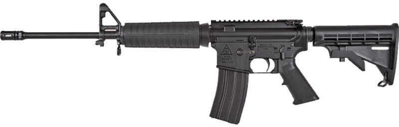 "Del-Ton DT Sport Lightweight AR-15 Semi Automatic Rifle 5.56mm 16"" Barrel 30 Round Mag Black Finish   *CA Approved*  DTSPORTLT"