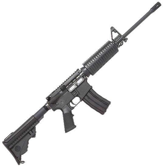 "DPMS Panther A3 Lite 16 AR-15 Semi Automatic Carbine Rifle 223 Remington/5.56mm NATO 16"" Barrel 30 Round Mag Black Finish 60525"