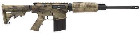 "DPMS Oracle 308 Winchester 16"" Barrel 19 Round A-TAC Camo AP4 6 Position Forward Assist Semi Automatic Rifle RFLR-OC-ATACS"