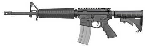 "DSA DS Arms AR-15 223 Remington /5.56 NATO 16"" Barrel 30 Round 6-Position Stock Semi Automatic Rifle ZM4RCR16MIDNONFL-A"