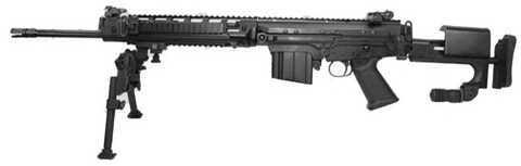 """DSA DS Arms SA58 SPR FAL 308 Winchester/7.62 NATO 19"""" Barrel 10 Round Black Side Folding Stock Semi Automatic Rifle sa5819spra"""