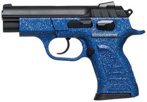 "European American Armory Witness Pavona 380 ACP 3.6"" Barrel 13 Round Sapphire Silver Sparkles Semi Automatic Pistol     999443"