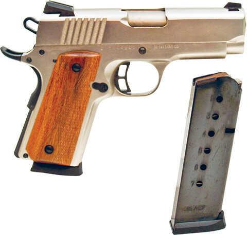 "Citadel 45 ACP 3.5"" Compact Brushed Nickel 6 Round Semi-Auto Pistol CIT45CSPBN"