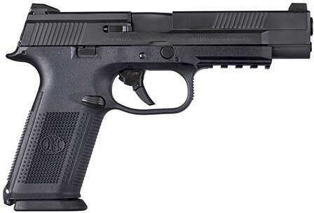 "FNH USA FNH FNS 9 Longslide Double Action Pistol 9mm Luger 5"" Barrel 10+1 Rounds Polymer Grip Black 66710"