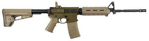 "Franklin Armory FA M4-L 223 Remington 16"" Barrel 30 Round OD Green Desert Smoke Magpul Semi Automatic Rifle 1180ODGDS"