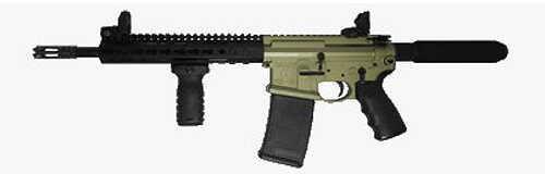 "Franklin Armory XO-26-S Pistol 450 Bushmaster 11.5"" Barrel OD Green Semi Automatic Pistol 3109ODG"