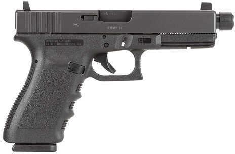 "Glock 21 Short Frame 45ACP 4.6"" Barrel 2-13 Round Magazines Integral Grip Black Finish Semi Automatic Pistol PF2150203TB"