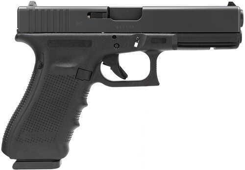 "Glock 22 Gen 4 40 S&W 4.5"" Barrel 15 Round Fixed Sights Modular Backstrap Black Semi Automatic Pistol PG2250203"