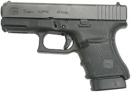 "Glock 30 Gen4 45 ACP 3.78"" Barrel 10 Round Semi Automatic Pistol PG3050201"