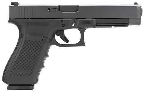 "Glock 41 Gen4 45 ACP 5.3"" Barrel 10 Round Black Semi Automatic Pistol PG4130101"