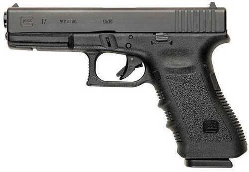 "Glock 17 9mm Luger FS 4.49"" Barrel 17 Round Black Semi Automatic Pistol UI1750203"