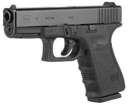 "Glock 19 9mm Luger 40.2"" Barrel 10 Rounds Semi Auto Pistol UI1950201"