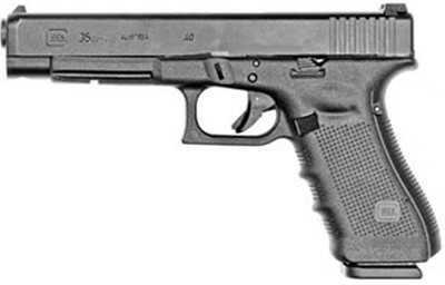 "Glock 35 Gen4 40 S&W 5.32"" Barrel 10 Round Semi Automatic Pistol PG3530101"
