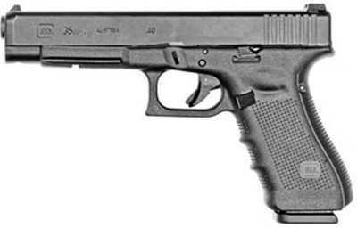 "Glock 35 Gen 4  40 S&W 5.32"" Barrel 15 Round Black Semi Automatic Pistol     PG3530103"