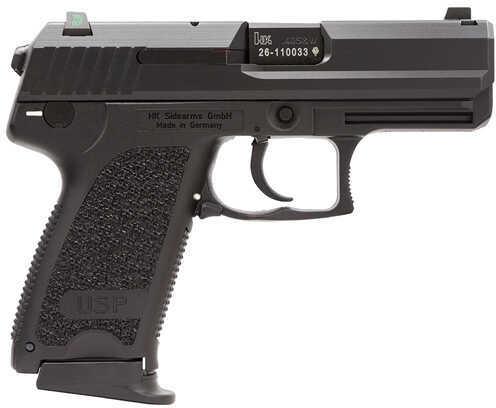 "Heckler & Koch USP40 40 S&W 3.6"" Barrel 12 Round Night Sights Black Semi Automatic Pistol 704037LEA5"