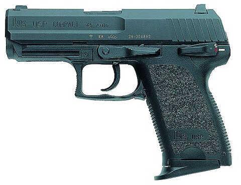 "Heckler & Koch USP45 Compact 45ACP 3.8"" Barrel 8 Round 2 Magazines Semi Automatic Pistol 704531A5"