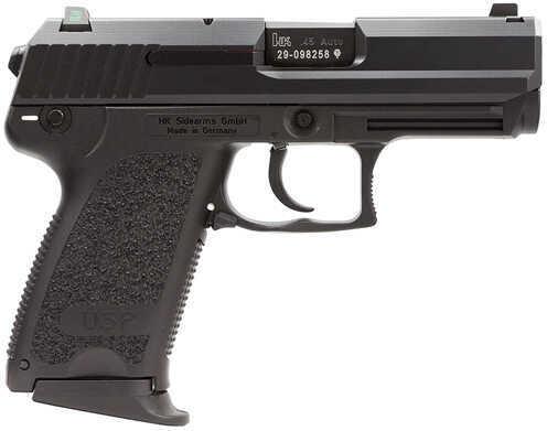 "Heckler & Koch USP45 Compact 45ACP 3.8"" Barrel 8 Round Black Finish Semi Automatic Pistol 704531LEA5"