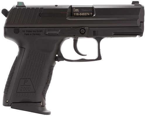 "Heckler & Koch P2000 9mm Luger 3.7"" Barrel 13 Round Night Sights Black No Manual Safety Semi Automatic Pistol 709203LEA5"