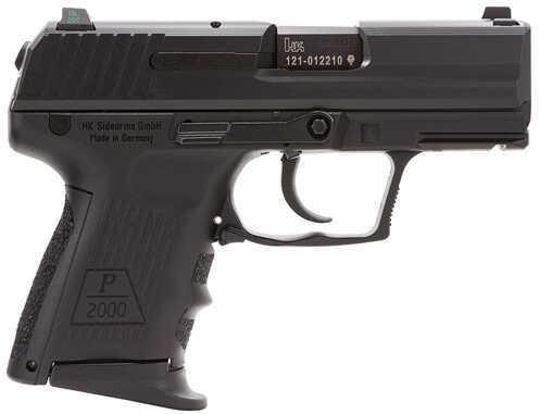 "Heckler & Koch P2000 9mm Luger 3.3"" Barrel 10 Round Black Semi Automatic Pistol 709302LEA5"