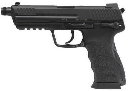 "Heckler & Koch 45T V1 45ACP 5.16"" Threaded Barrel Fixed 3 Dot Sights 2-10 Round Magazines Semi Automatic Pistol 745001T-A5"