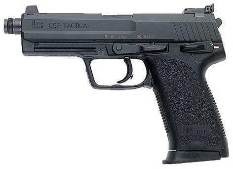 "Heckler & Koch USP45 Tactical 45 ACP 5.09"" Barrel 12 Round 2 Magazines Semi Automatic Pistol M704501TA5"