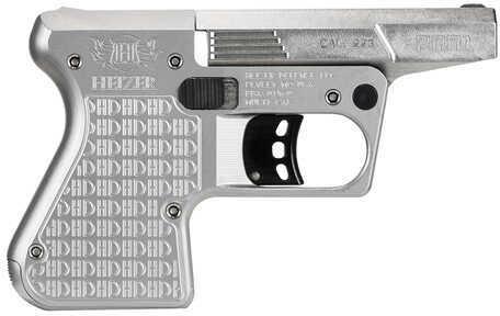 """Heizer Defense Heizer PAR1 Pocket AR 223 Remington 3.75"""" Barrel Single Shot Stainless Steel Pistol PAR1SIL"""
