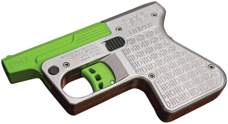 "Heizer Defense Heizer PS1 Pocket Shotgun Pistol DAO 45 Colt/410 Gauge 3.5"" Barrel 1 Round Stainless Steel /Green PS1SSGR"