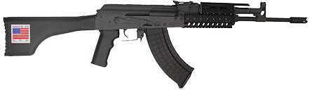 """I.O. Inc. (Inter Ordnance) Rifle I.O Inc I.O. IODM2020 AK47 Rifle Semi-Auto 7.62x39 16.3"""" Barrel 30+1 Rounds Synthetic Stock Black AKM247T"""