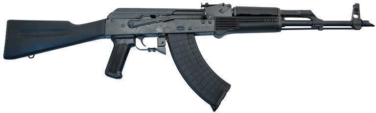 """I.O. Inc. (Inter Ordnance) Rifle I.O Inc I.O. AKM247 CA Compliant Semi-Automatic 7.62X39 16.25"""" Barrel 10+1 Rounds Synthetic Black Stock IODM2004"""