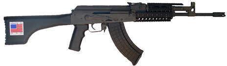 """I.O. Inc. (Inter Ordnance) I.O. M214 7.62x39 16"""" Barrel 30 Round Quad Rail Black Synthetic Semi Automatic Rifle IOIN1010"""
