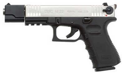 """ISSC Austria M22DT 22 Long Rifle 5.5"""" Target Duotone 10 Round Pistol M111003"""